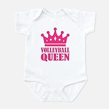 Volleyball queen crown Infant Bodysuit