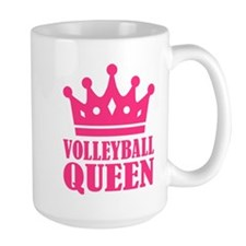 Volleyball queen crown Mug