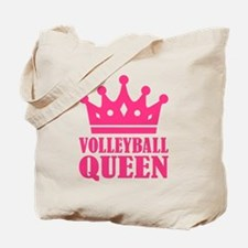 Volleyball queen crown Tote Bag