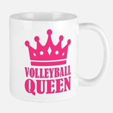 Volleyball queen crown Mug