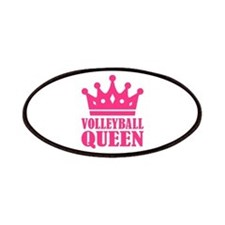 Volleyball queen crown Patches