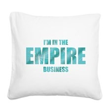 Empire Business Square Canvas Pillow