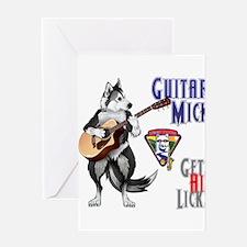 Guitar Mick Greeting Cards