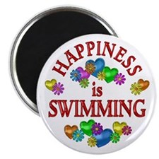 Happiness is Swimming Magnet
