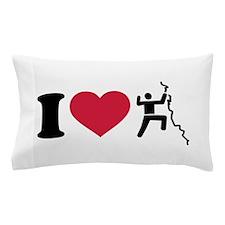 I love Climbing Pillow Case