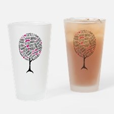 Family Tree Drinking Glass