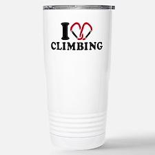 I love Climbing carabin Stainless Steel Travel Mug