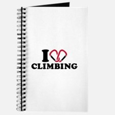 I love Climbing carabiner Journal