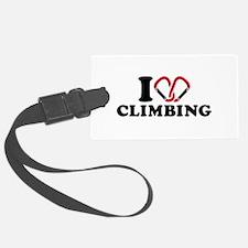 I love Climbing carabiner Luggage Tag