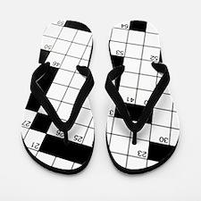 Diagonal Crossword Puzzle Flip Flops