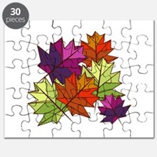Colorful Leaves Puzzle