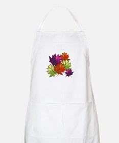 Colorful Leaves Apron