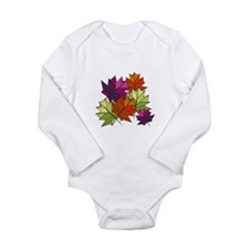 Colorful Leaves Body Suit