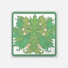 Green Man Sticker