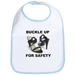 Buckle Up For Safety Bib