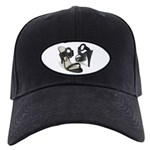 Buckle Up For Safety Black Cap