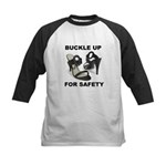 Buckle Up For Safety Kids Baseball Jersey