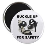 Buckle Up For Safety Magnet