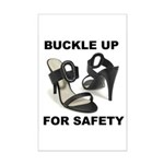 Buckle Up For Safety Mini Poster Print