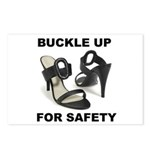 Buckle Up For Safety Postcards (Package of 8)