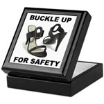 Buckle Up For Safety Keepsake Box