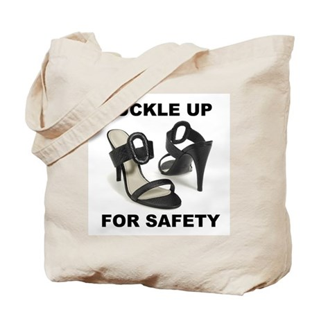 Buckle Up For Safety Tote Bag