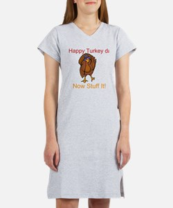 Happy Turkey Day! Women's Nightshirt