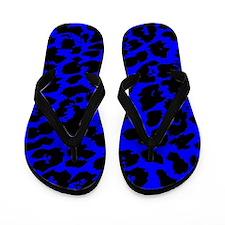 Animal Print Spots Flip Flops