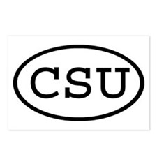 CSU Oval Postcards (Package of 8)
