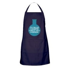 Community TV - Chemistry Quote Apron (dark)