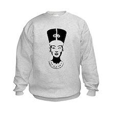 Nefertiti - Right Eye Open Sweatshirt
