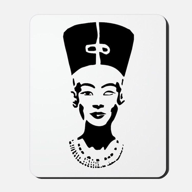Nefertiti - Right Eye Open Mousepad