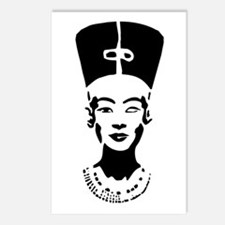 Nefertiti - Right Eye Open Postcards (Package of 8