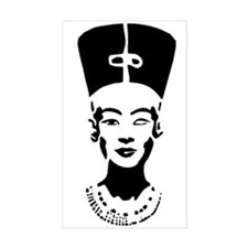 Nefertiti - Right Eye Open Rectangle Decal