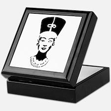 Nefertiti - Right Eye Open Keepsake Box