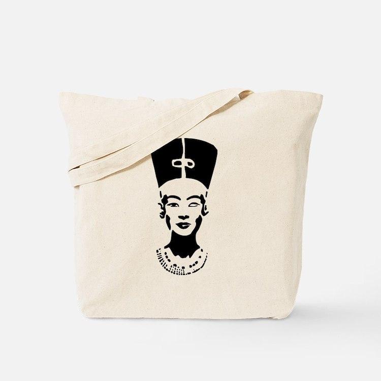 Nefertiti - Right Eye Open Tote Bag