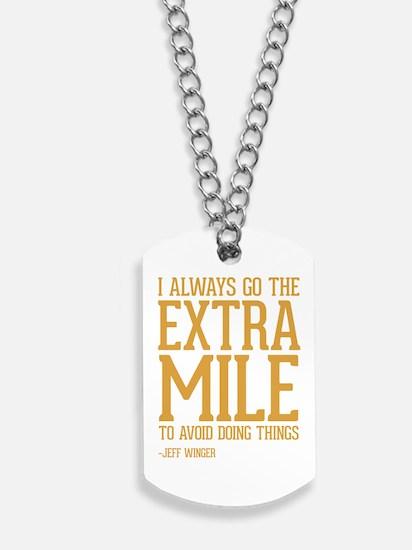 Community TV Extra Mile Dog Tags