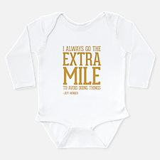 Community TV Extra Mil Long Sleeve Infant Bodysuit