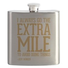 Community TV Extra Mile Flask