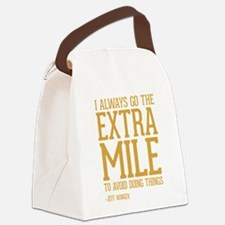 Community TV Extra Mile Canvas Lunch Bag