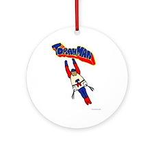 Torah Man Ornament (Round)