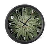 Cannabis Giant Clocks