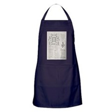 crossword puzzle Apron (dark)