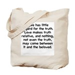 Love/Truth Tote Bag