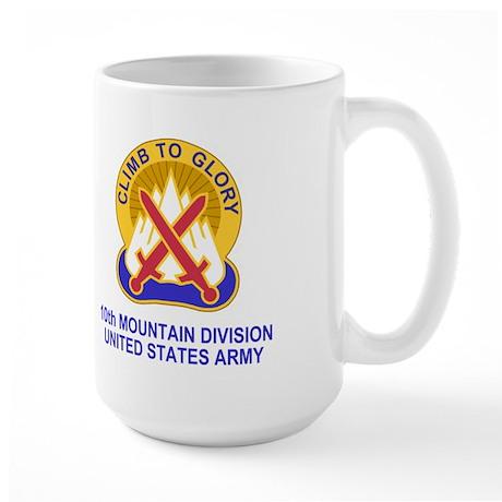 10th Mountain Division<br>Large Coffee Mug