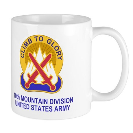 10th Mountain Division<br>Coffee Cup