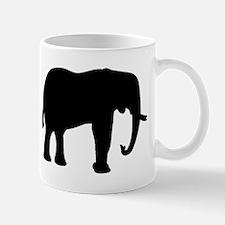 Elephant Silhouette Mugs