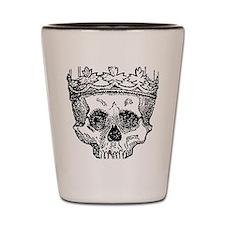 Black crown Shot Glass