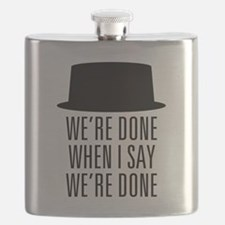 Breaking Bad - Were Done Flask
