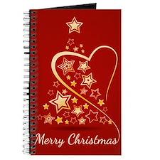 Starry Christmas Tree Journal